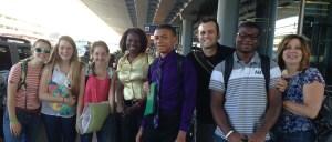 team at airport 7-14