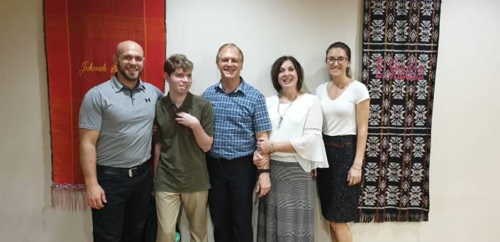 Family at JIBC 2-19
